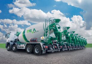 new Euromix 9 m3 on chassis BETAMIX 9  m3 concrete mixer truck
