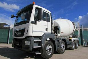 Stetter  AM 9 FHC - BL  on chassis MAN TGS 32.420 8x4 Betonmixer concrete mixer truck