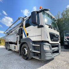 Schwing P2023-110/75 RM  on chassis MAN 26.360 SCHWING 36mX;6x4;GERMAN!;NUR 55tkm;E6 concrete pump