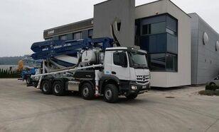 Cifa 28 on chassis MERCEDES-BENZ Arocs 3245 8x4 CIFA 28m+ 9m3 mixer-pump, euro 6, perfect conditi concrete pump