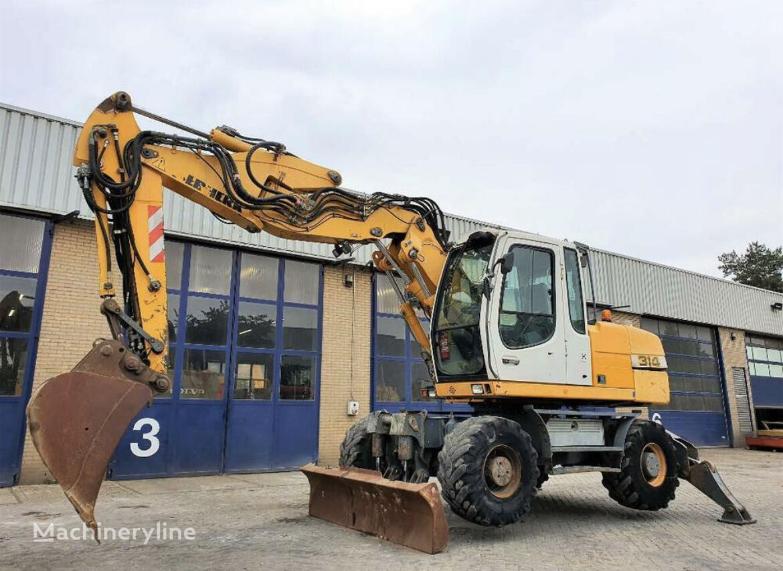 LIEBHERR A314 wheel excavator