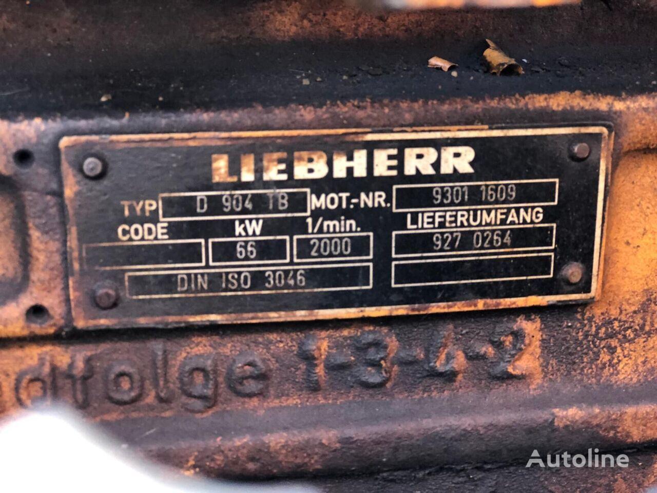 LIEBHERR D904 TB (9301 1609) engine for excavator